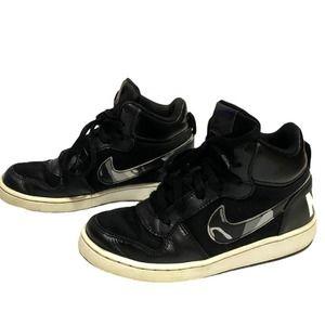 Boys Nike Court Borough Mid Camo Sneakers